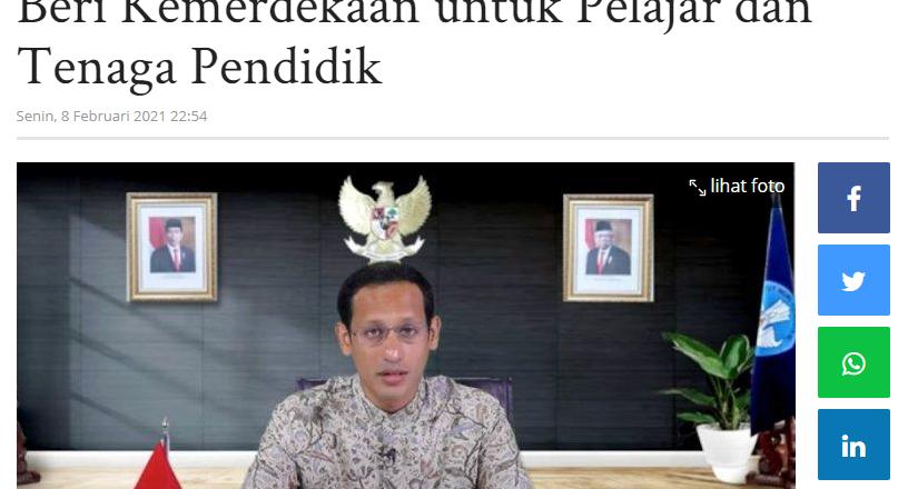 Imparsial: SKB 3 Menteri Soal Seragam Beri Kemerdekaan untuk Pelajar dan Tenaga Pendidik
