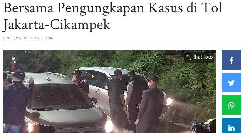 Hasil Investigasi Komnas HAM Pijakan Bersama Pengungkapan Kasus di Tol Jakarta-Cikampek