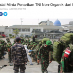 Imparsial Minta Penarikan TNI Non-Organik dari Papua