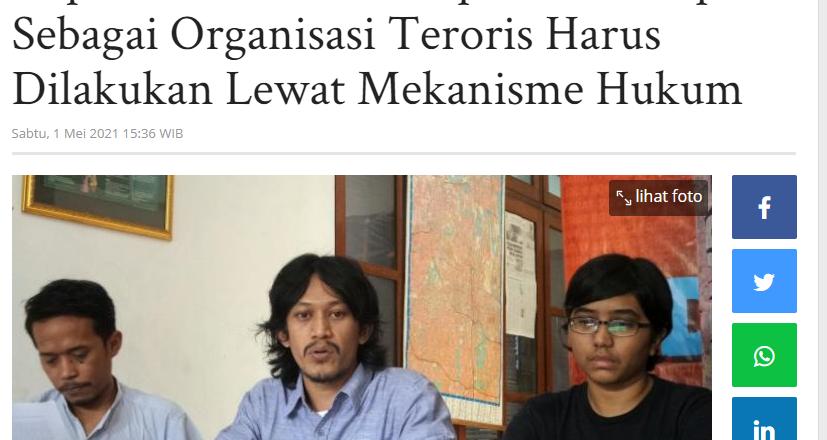 Imparsial Sebut Penetapan KKB Papua Sebagai Organisasi Teroris Harus Dilakukan Lewat Mekanisme Hukum