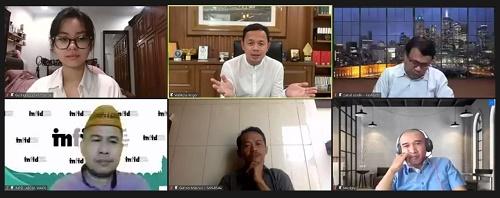 Buka Pelatihan Kabupaten/ Kota HAM 2021, Bima Arya Sebut Kota Bogor Miliki Tiga DNA Kuat