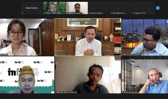 Buka Pelatihan Kabupaten/Kota HAM 2021, Bima Arya: Kota Bogor Miliki Tiga DNA Kuat